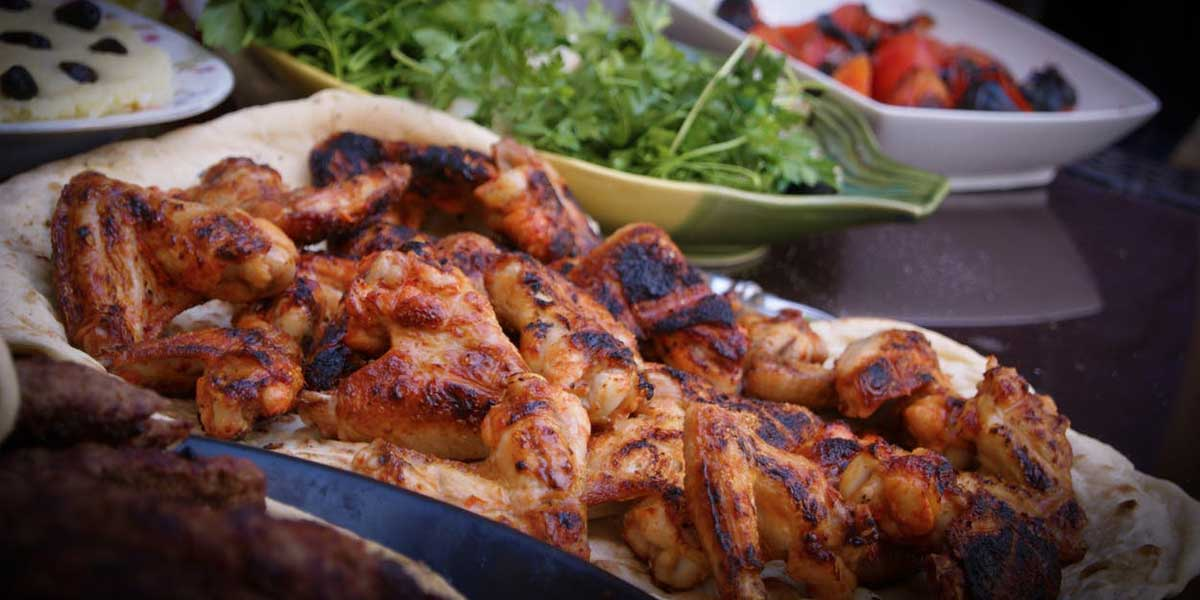 Chicken Grill Meal Food For Health