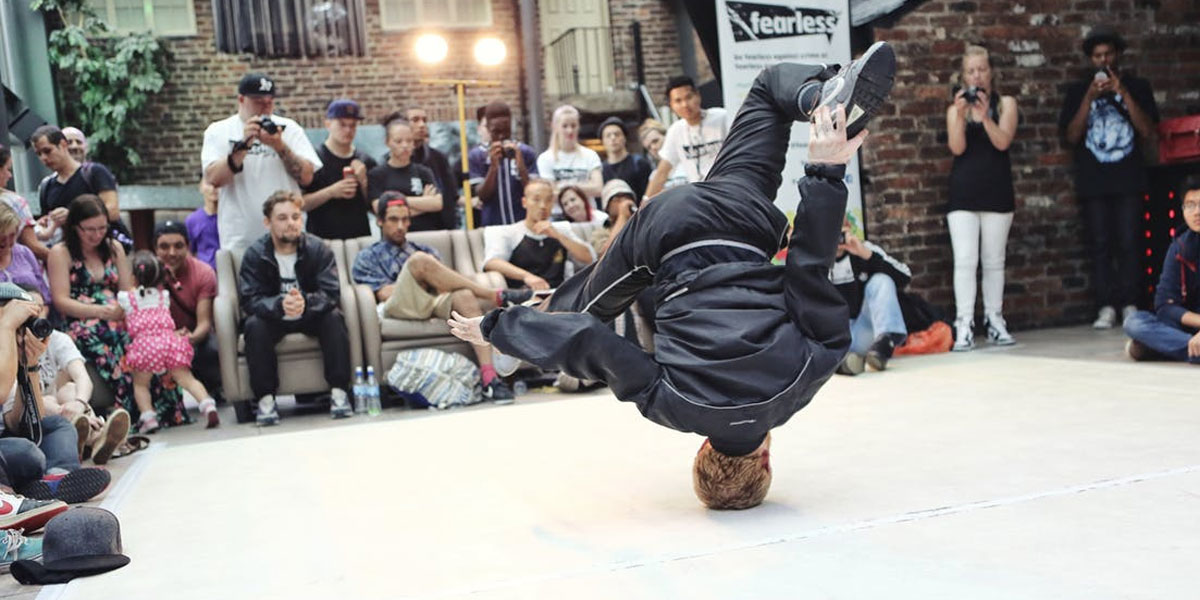 B-Boyinng Street Competition In Sydney