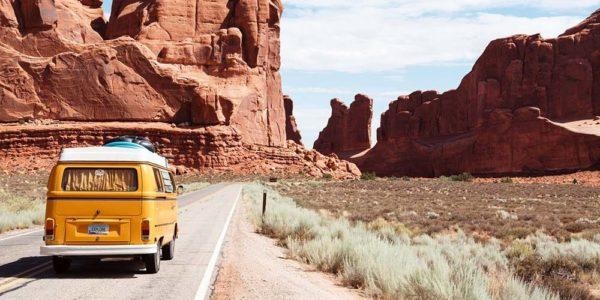 Arches National Park Arid Canyon