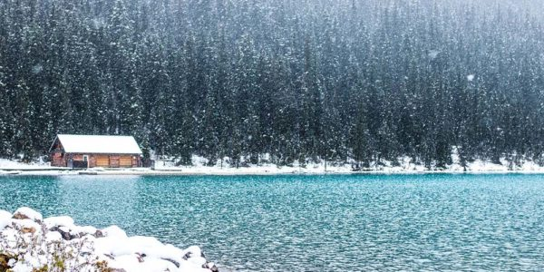 Lake Louise Canada Banff Landscape